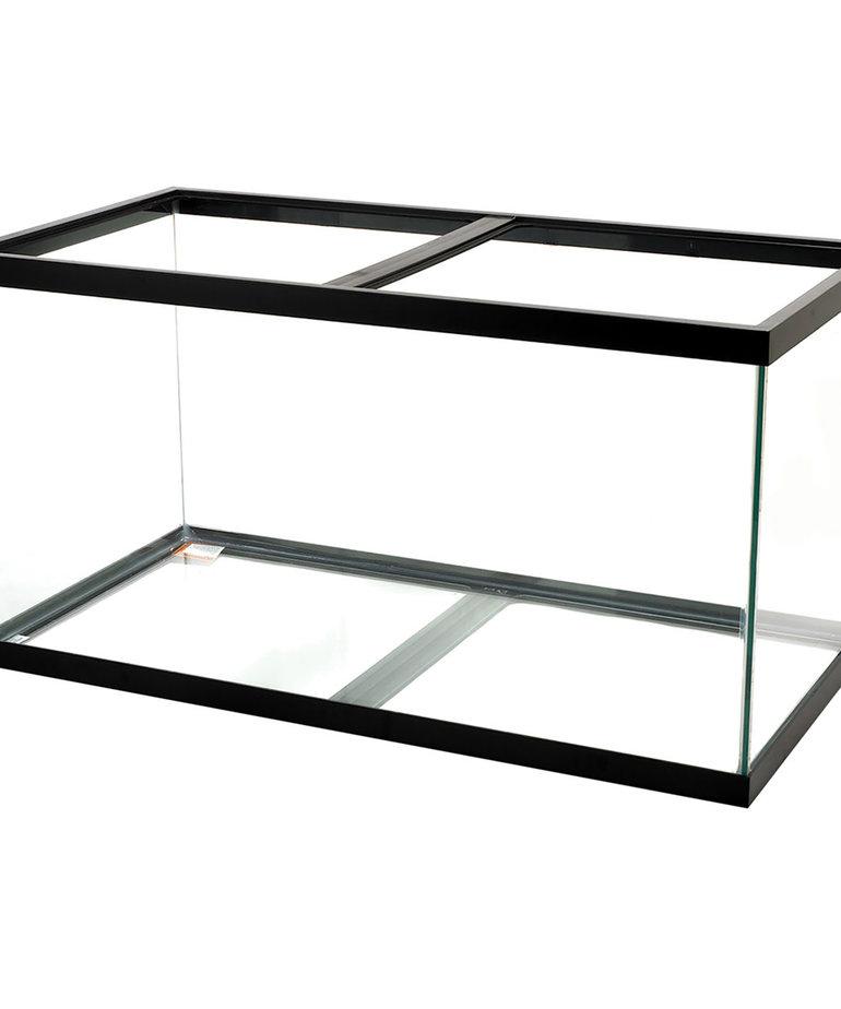 AQUEON Standard Aquarium - Black Frame - 120 gal - Black Silicone