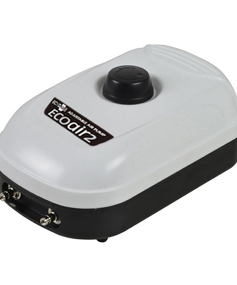 Ecoplus ECOPLUS Eco Air 2 Adjustable Air Pump - 2 Outlet - 3 W - 126 gph