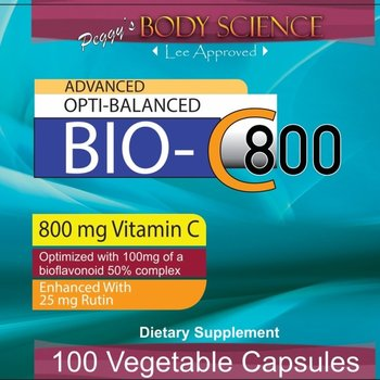 Body Science Advanced Opti-Balanced Bio-C 800 100 Veg Capsules