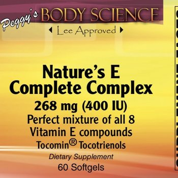 Body Science Bsci Natures complete E complex (60)