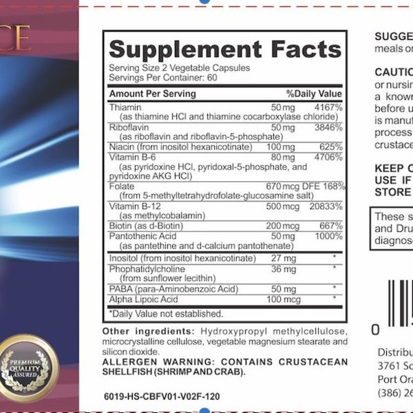 Body Science BSCI SUPER B complex 120