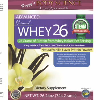 Body Science BSCI WHEY 26 VANILLA PROTEIN PWDR SML