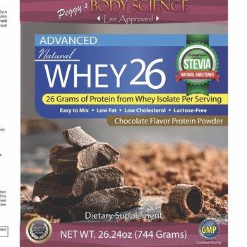 Body Science BSCI WHEY 26 CHOCO PROTEIN 13 OZ