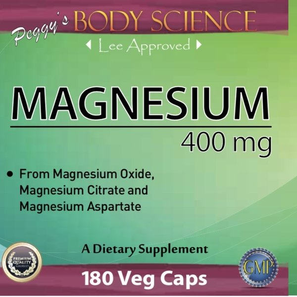 Body Science Magnesium 400 mg 180 caps