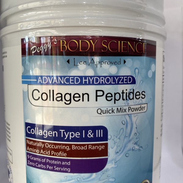 Body Science Collagen Peptides Quick Mix Powder 1 Lb