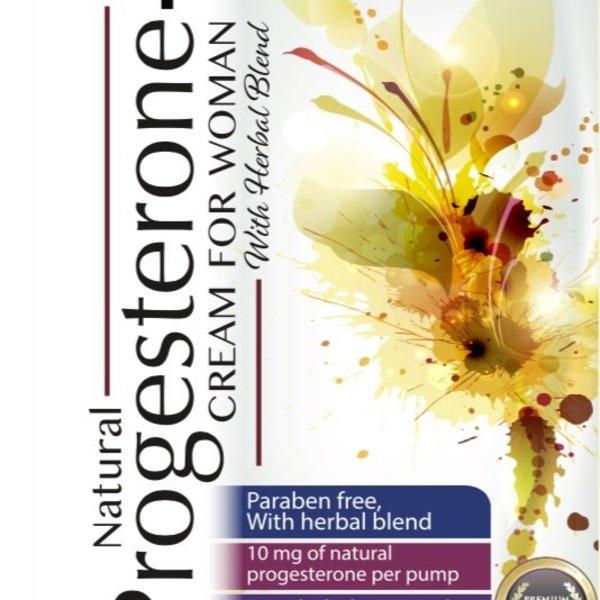 Body Science Natural Progesterone Cream 8oz Pump