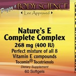Body Science Natures complete E complex (60)