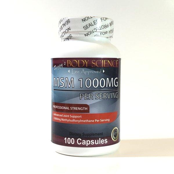 Body Science MSM 1000mg 100 Capsules