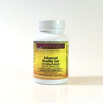 Body Science Advanced Healthy Gut 100 Billion 30 Veg Capsules