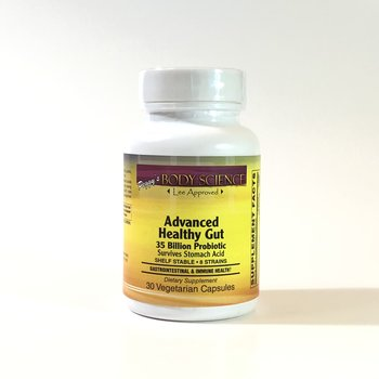 Body Science Advanced Healthy Gut 35 Billion 30 Capsules