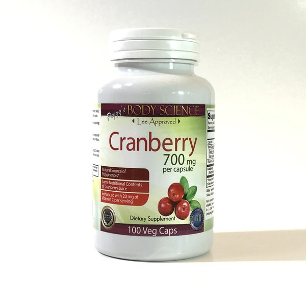 Body Science Cranberry 700mg 100 Capsules