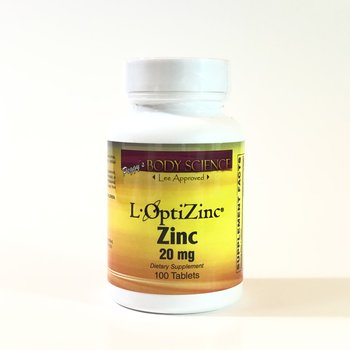 Body Science L-OptiZinc® 20mg 100 Tablets