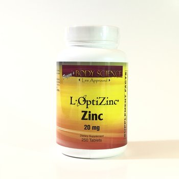 Body Science L-OptiZinc® 20mg 250 Tablets