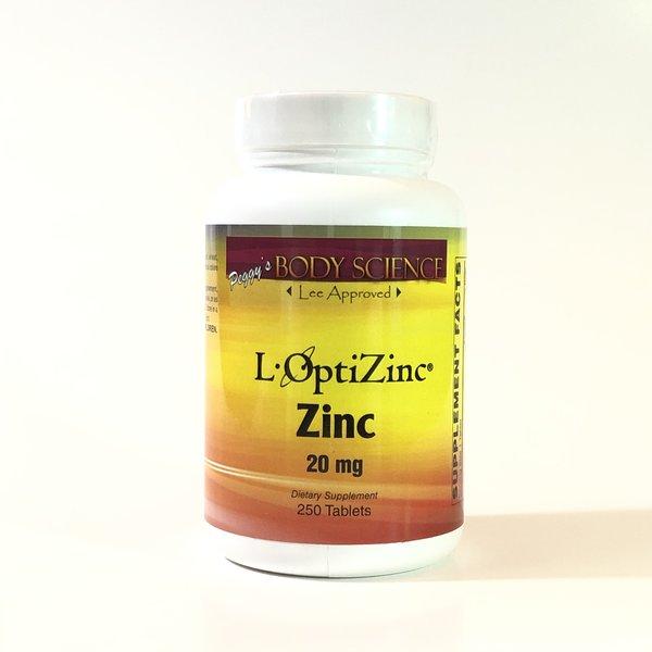 Body Science L-OptiZinc® 20mg 250 Tablets