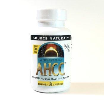 SOURCE NATURALS AHCC 500 mg Bonus 30+30 60 Capsule