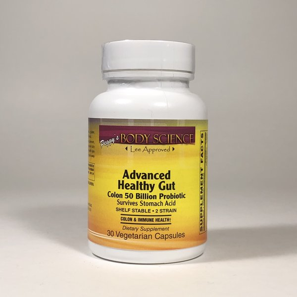 Body Science Advanced Healthy Gut 50 Billion 30 Capsules