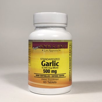 Body Science GARLIC 500 mg 5000 ALLICIN 60 TAB