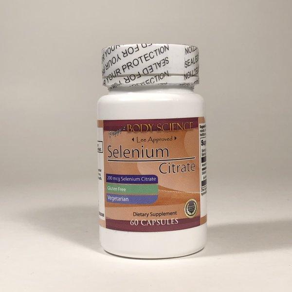 Body Science SELENIUM Cit 200 mcg