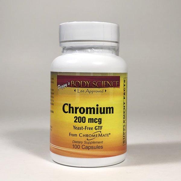 Body Science CHROMIUM 200 MCG 100 CAPS
