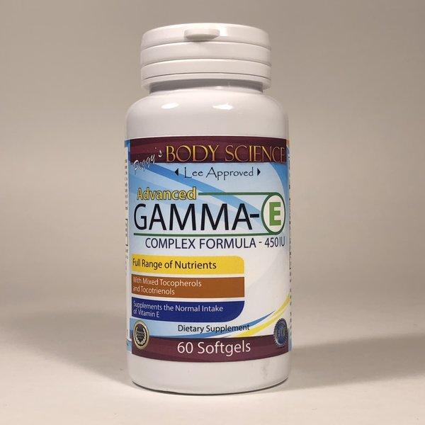 Body Science Gamma E 450IU 60 Softgels