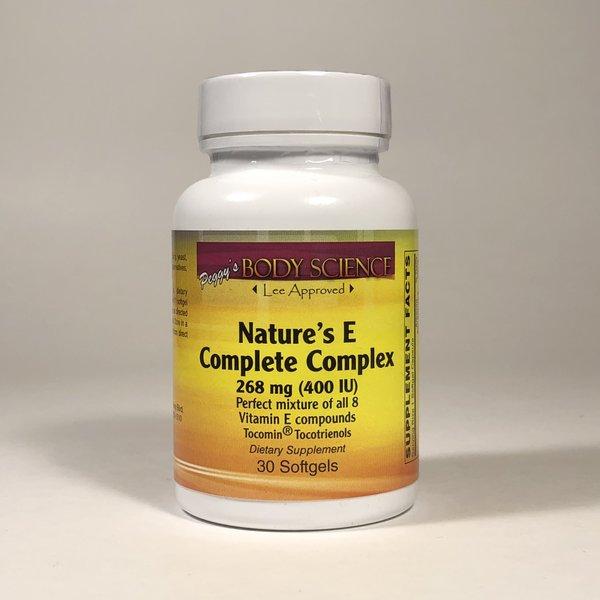 Body Science Nature's E Complete Complex 400 IU 30 Softgels