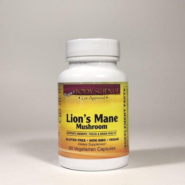 Body Science Lions Mane Mushroom 60 Veg Capsules