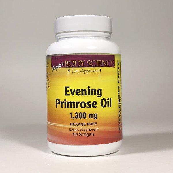 Body Science Evening Primrose Oil 1,300mg 60 Softgels