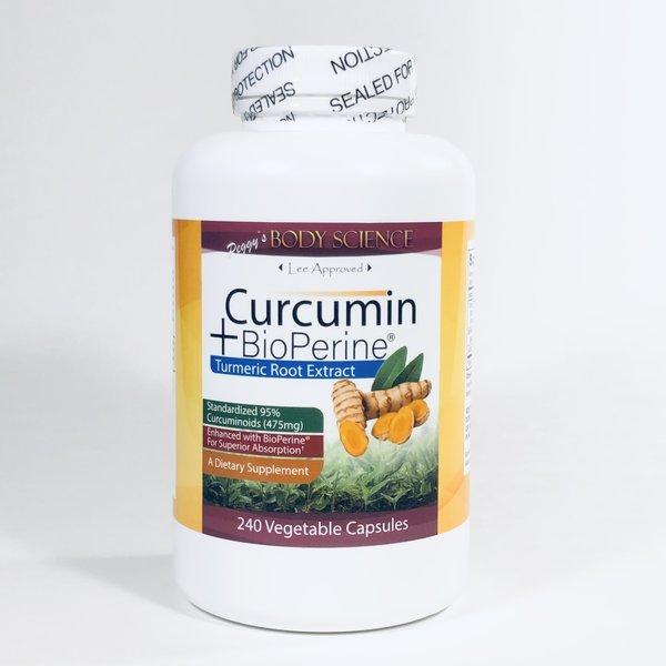 Body Science Curcumin + BioPerine(R) 240 Capsules
