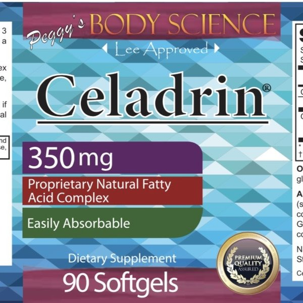 Body Science Celadrin 350mg 90 Softgels
