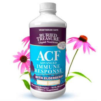 BURIED TREASURE ACF W/ ELDERBERRY 16 FL OZ