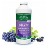 BURIED TREASURE Colloidal Mineral Complex  Grape Flavored