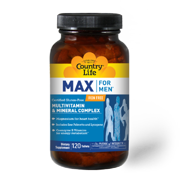 COUNTRY LIFE MAX For Men® Multivatamin 120 Tablets
