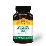 COUNTRY LIFE Coenzyme B-complex 120 Vegan Capsules