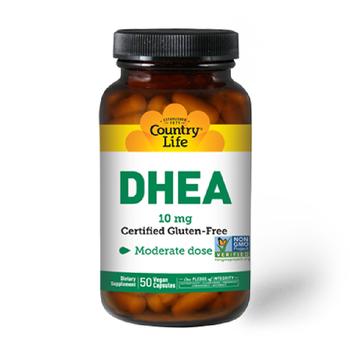 COUNTRY LIFE DHEA 10 Mg 50 Vegan Capsules