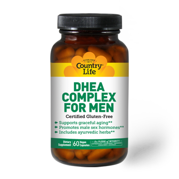 DHEA 50 mg for Men 60 Capsules