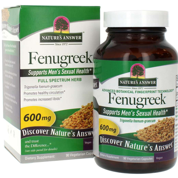 NATURES ANSWER Fenugreek Seed 90caps