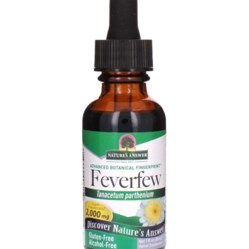 NATURES ANSWER Feverfew ALC/ FR1oz