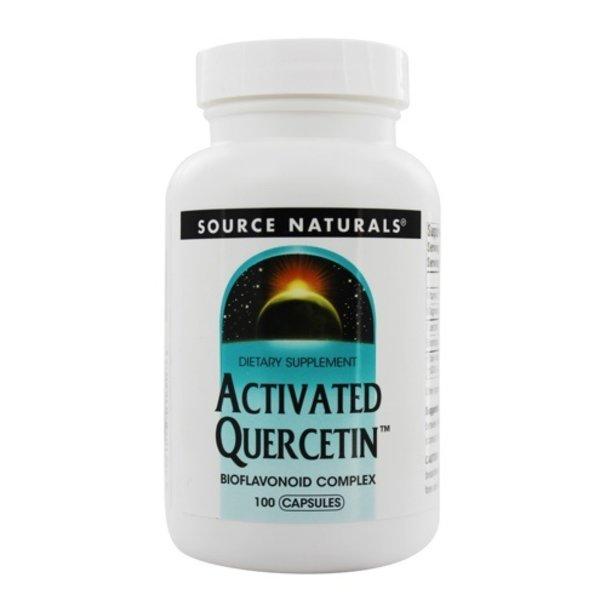 SOURCE NATURALS Activated Quercitin 100 Capsules
