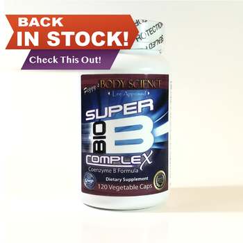 Body Science Super Bio B  complex 120 Veg Capsules