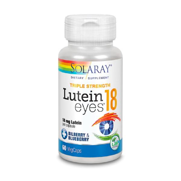 SOLARAY Lutein Eyes 18, Triple Strength