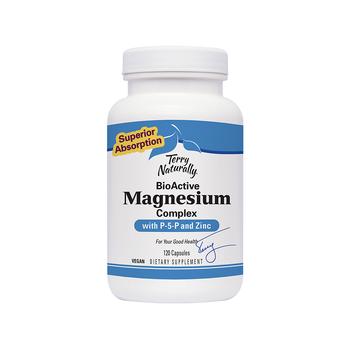 TERRY NATURALLY Bio Active Magnesium (P-5-P) 120 caps