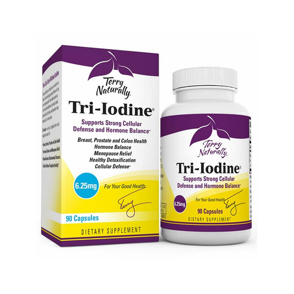 TERRY NATURALLY Tri-Iodine 6.25mg 90 Capsules