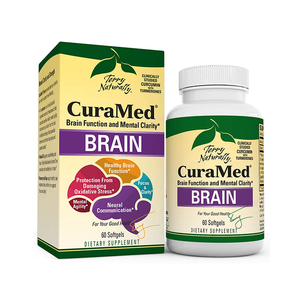 TERRY NATURALLY CuraMed Brain (Formally Mental Advantage) 60 Softgels