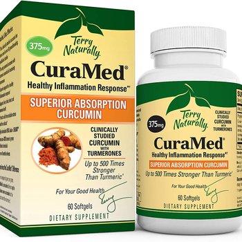 TERRY NATURALLY Curamed 375mg Curcumin Extract 60 softgels