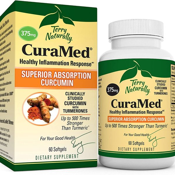 TERRY NATURALLY Curamed 375mg Curcumin Extract 60 softgels