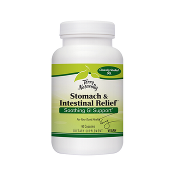 TERRY NATURALLY Advanced DGL 60 Capsules (Now Known As Stomach & Intestinal Relief)