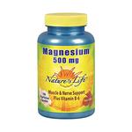 NATURES LIFE Magnesium 500 mg + B-6 180 Capsules