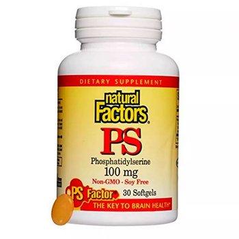 NATURAL FACTORS NF PHOSPHATIDYLSERINE 100 MG