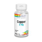 SOLARAY Copper 2 mg 100 Capsules