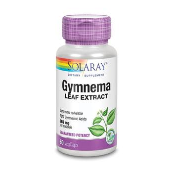SOLARAY Gymnema Leaf Extract 385 mg 75% 60 VegCaps